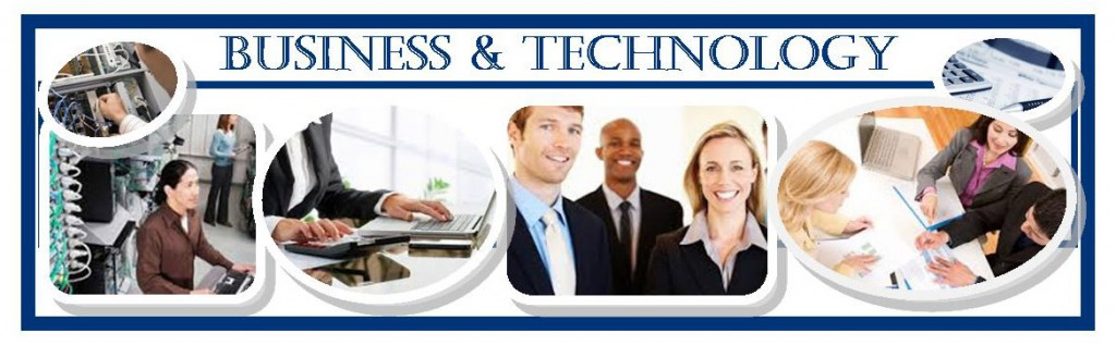 photo banner for business & technology