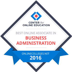 http://www.onlinecolleges.net/rankings/best-online-associate-business-administration-degree-programs/